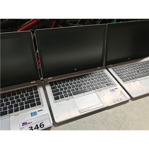 HP FOLIO 9470 I5 NOTEBOOK COMPUTER, NO POWER SUPPLY