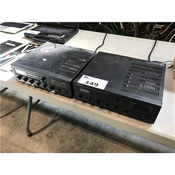 2 INTERM PA-100 BR RECEIVERS