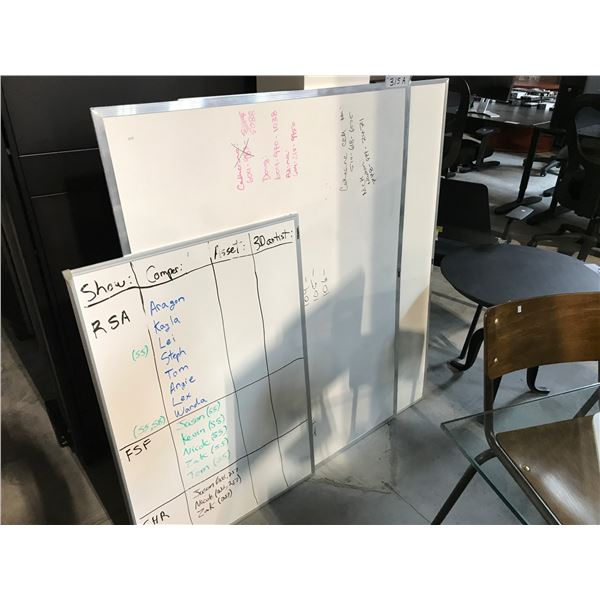 2 4X3' & 1 2X3' WHITEBOARDS