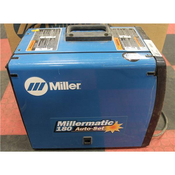 MILLERMATRIC 180 MIG WIRE FEED WELDER