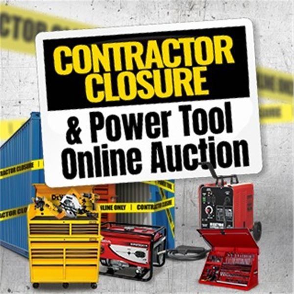 WELCOME TO KASTNER AUCTIONS CONTRACTOR CLOSEOUT