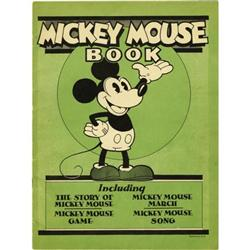 Mickey Mouse Book Later Printing (1931)