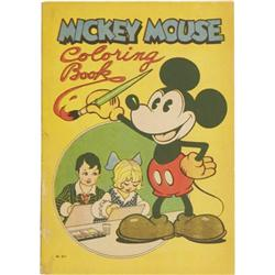 Mickey Mouse Coloring Book #871 (Saalfield,