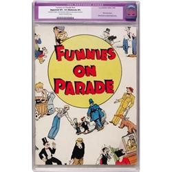 Funnies On Parade #nn (1933) CGC App.8.5