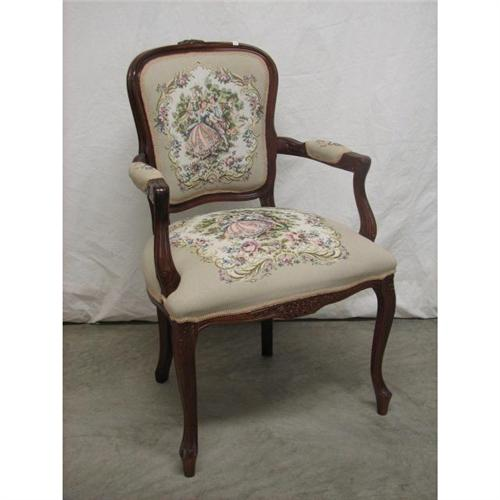 French Provincial Chair >> French Provincial Arm Chair