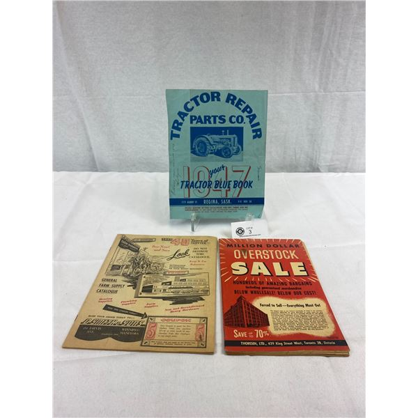 Nice Lot Of Ephemera From The 1940's, Tractor, Manitoba, Ontario, Etc