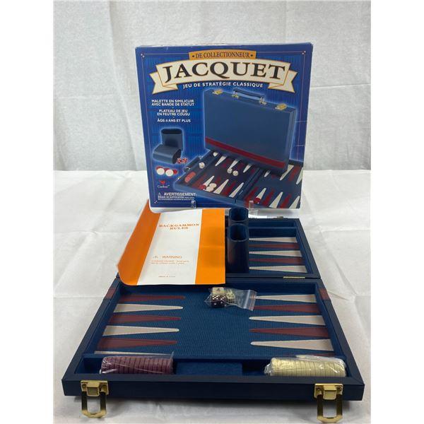 2005 New Old Stock Backgammon Game In Original Box
