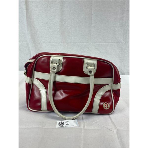 Vintage Lululemon Bowler Bag Purse, Very Clean