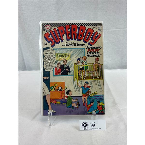 DC Comics Superboy, Superbaby's First Foster Parents, In Bag On Board