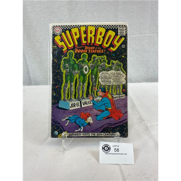 DC Comics Superboy, Decoy Of The Doom Statues, In Bag On Board