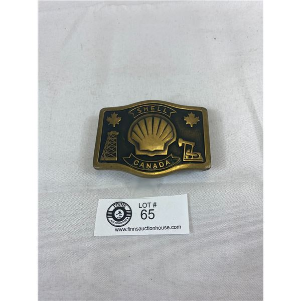 Shell Canada Vintage Belt Buckle