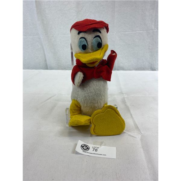 "Vintage Donald Duck Huey Plush Toy, Missing Disney Tag, Nice Condition, 10""T"
