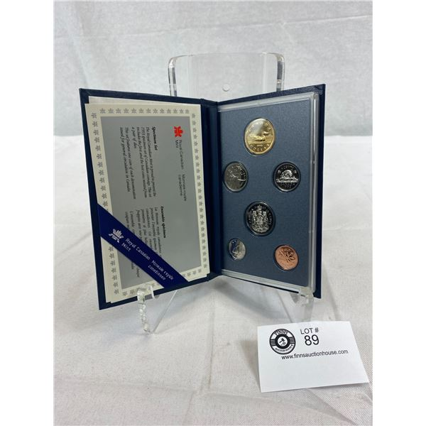1993 Royal Canadian Mint Specimen Set In Original Case