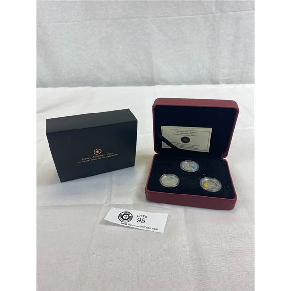 2011 Sterling Silver Coin Set, Our Legendary Nature In Original Case