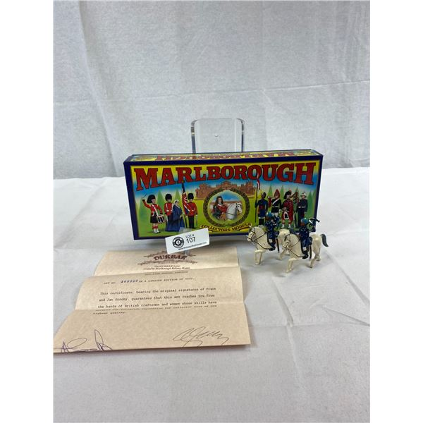 Marlborough Toy Soldiers In Original Box With COA Limited Edition Of 1000 Made