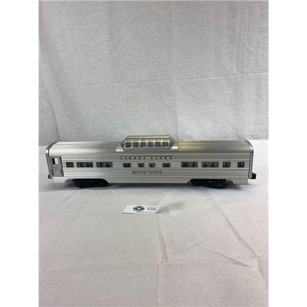 Original Lynell Train Silver Range Observation Car (O Gage)