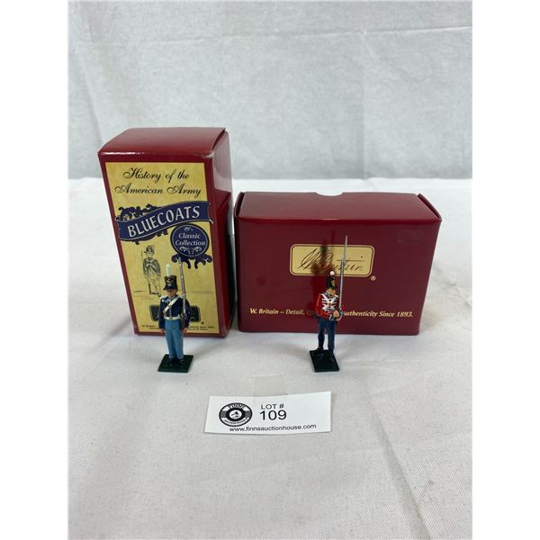 Pair Of New In Box British Soldiers