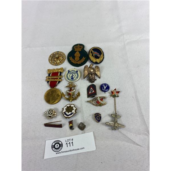 Nice Lot Of Pins And Insignia