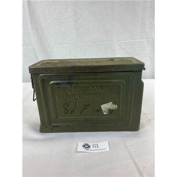 US WW2 Ammunition Box