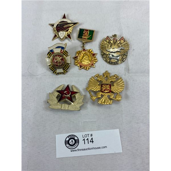 Nice Lot Of Russian Badges