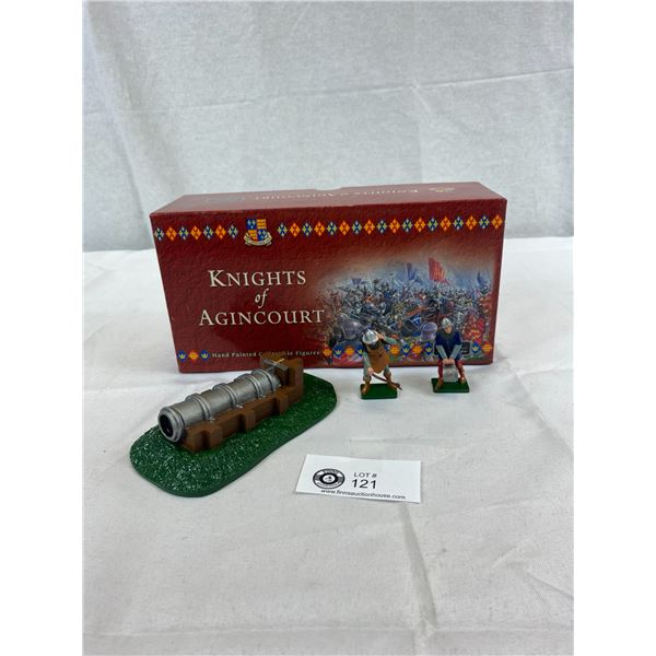 Knights Of Agincourt Collectible Figures, New In Box