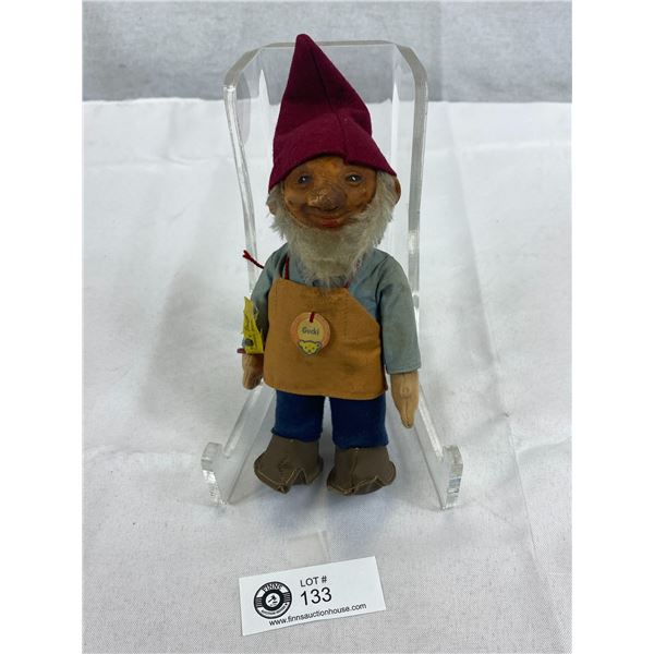 Vintage Stieff Gnome, Gucki With ID First Edition, 1953-1958