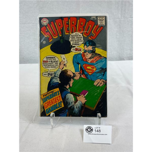 DC Comics Superboy, Superboy's Greatest Gamble, In Bag On Board