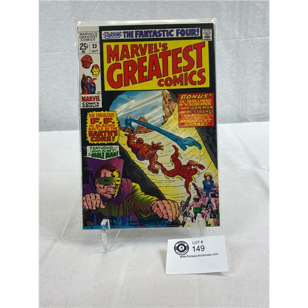 Marvel Comics The Fantastic Four, Marvel's Greatest Comics, In Bag On Board