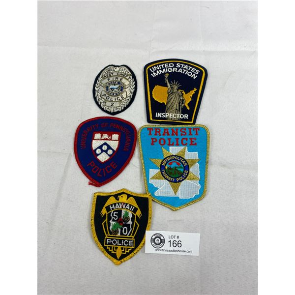 Lot Of US Police Patches