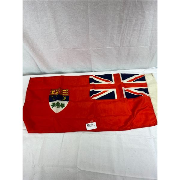 Nylon Canadian Ensign Flag