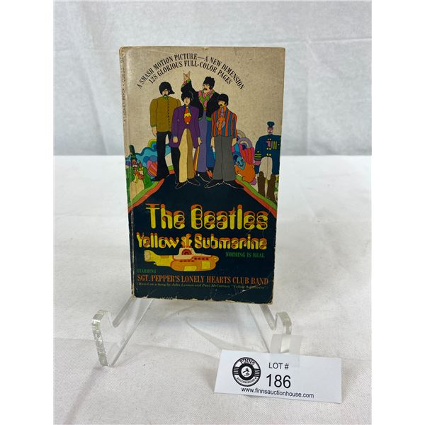 Original 1968 Beatles Yellow Submarine Book