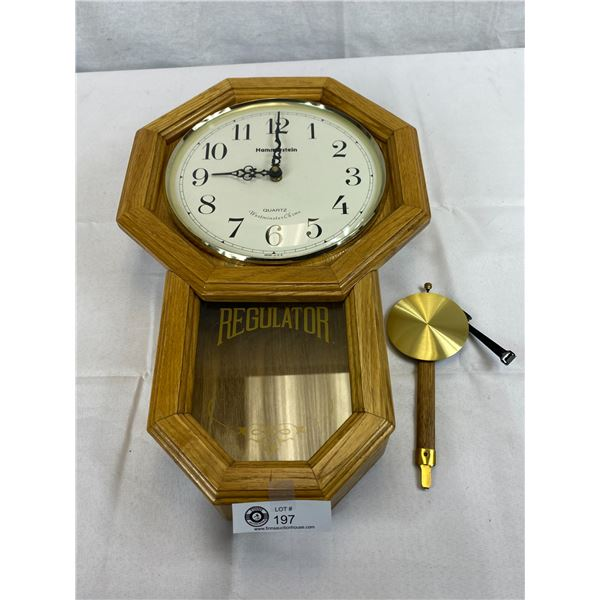 Nice Wall Clock (Hammerstein) Regulator