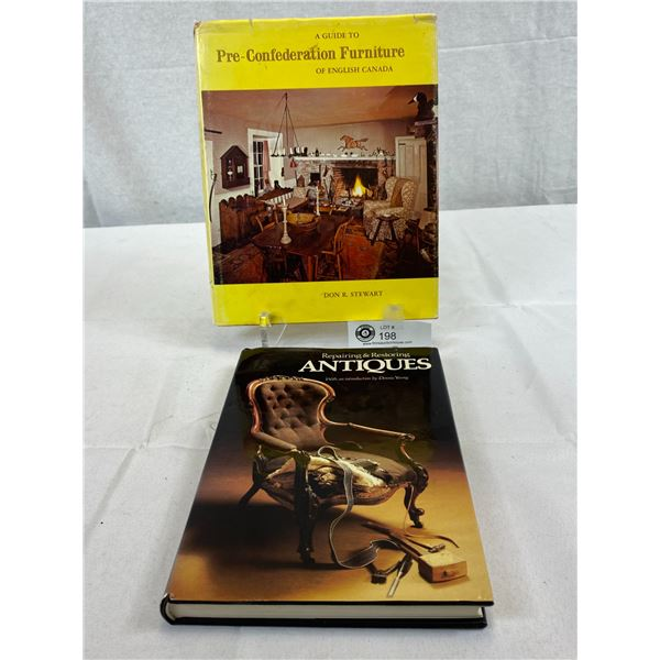 2 Hardcover Books On Antiques
