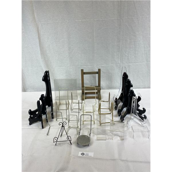 Large Lot Of Display Stands, Etc., For Stores