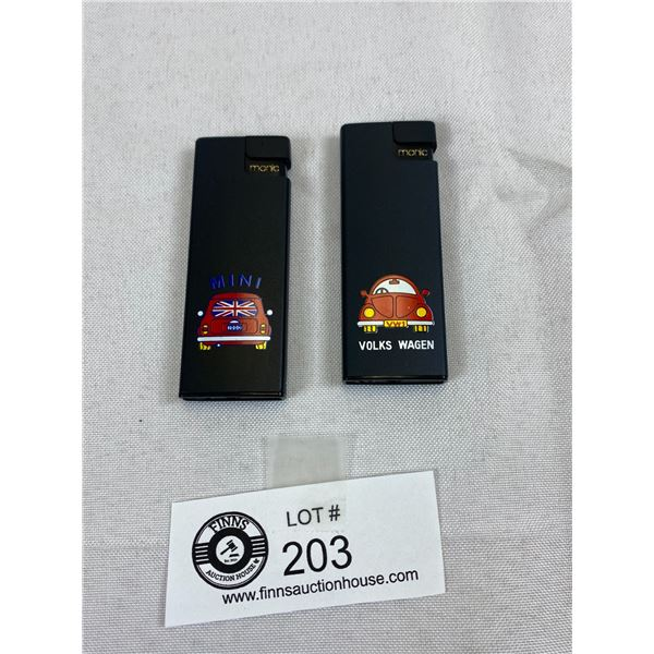 Volkswagen And Mini Lighters, New Old Stock