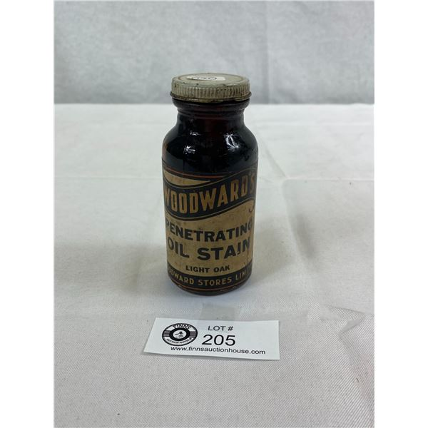 Early Woodward's Oil Stain Bottle