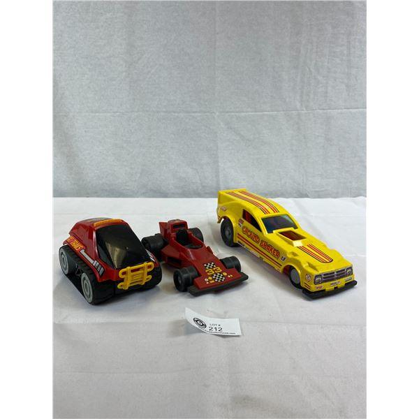 3 Vintage Toys, 1 Tonka, 2 Fisher Price