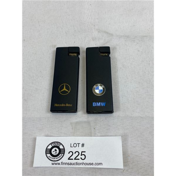 BMW And Mercedes Bens Lighters, New Old Stock
