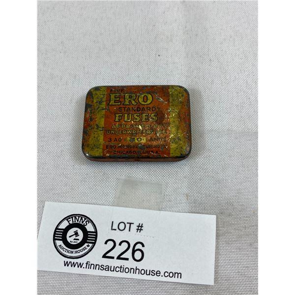 Vintage Tin Fuse Box (ERO)