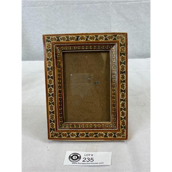 Very Nice Persian Micro Mosaic Photo Frame