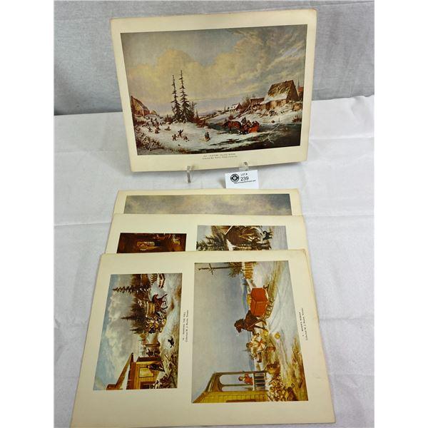 Lot Of Early Cornelius Kreigoff Prints