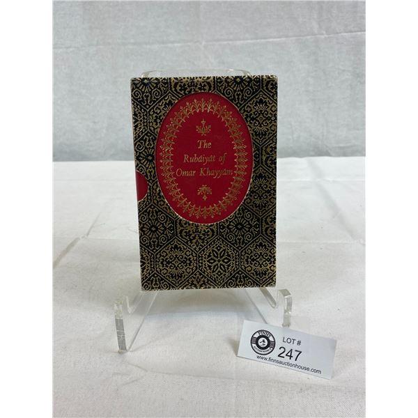 Book The Rubaiyat Of Omar Khayyam In Sleeve