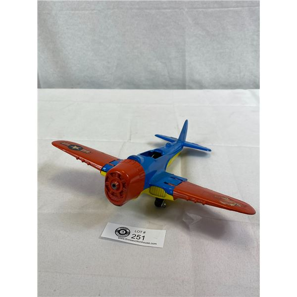 Vintage Die Cast Hubley Plane, As Found