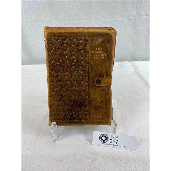 The Holy Bible, Scofield Reference Bible Rev. C.I. Scofield, D.D., 1917 Oxford University Press, Lea