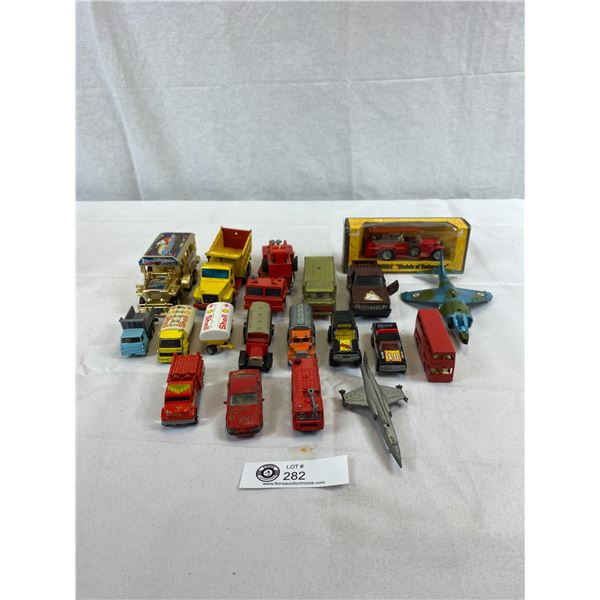 Lot Of Assorted Cars, Trucks And Airplanes
