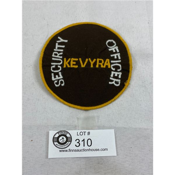 Kenya Security Officer Patch Insignia