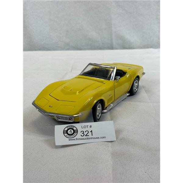 1/18 Scale 1969 Corvette Die Cast Car