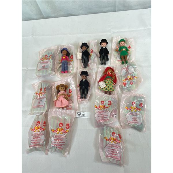 McDonald-Madam Alexander Dolls, 8 Unopened And 5 Were Taken Out For Display Only