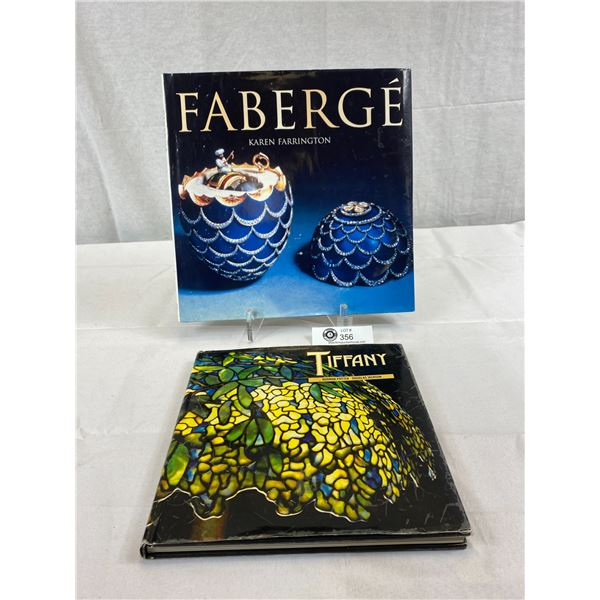 Nice Hardcover Books On Fabergé And Tiffany