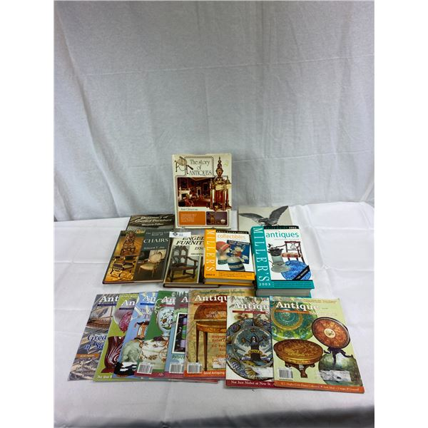 Nice Lot Of Books On Antiques And Collectibles